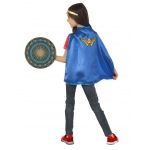 Wonder Woman Cape and Shield Set: One Size, Dress Up, Child