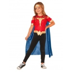 Wonder Woman Shirt with Cape Set: One Size, Dress Up, Child