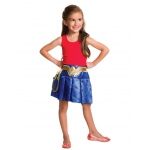 Wonder Woman Pleated Skirt: One Size, Dress Up, Child