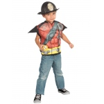 Imagine Fireman Muscle Shirt Set One Size