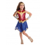 Justice League Girls Wonder Woman Costume M: Medium, Dress Up