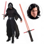 Star Wars Episode VIII: The Last Jedi - Kylo Ren Deluxe Adult Costume with Wig and Lightsaber - STD: Multi-colored, Standard, Halloween, Male, Adult