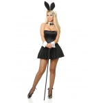 PLAYTIME BUNNY SUIT - S: Small, Halloween, Adult