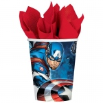 Epic Avengers 9oz Paper Cup (24): Birthday