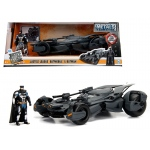 2017 Justice League Batmobile with diecast Batman Figure 1/24 Diecast Model Car by Jada