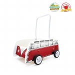 Hape Toys Classical Bus T1 Walker: Red, 10M+