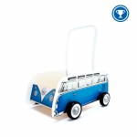 Hape Toys Classical Bus T1 Walker: Blue, 10M+