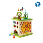Hape Toys Country Critters Play Cube: 12M+