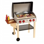 Hape Toys Gourmet Grill with Food : 3Y+