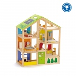 Hape Toys All Season House: Furnished, 3Y+