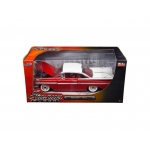 "1959 Chevrolet Impala Red ""Showroom Floor"" 1/24 Diecast Model Car by Jada"