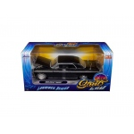 "1964 Chevrolet Impala Black ""Lowrider Series"" Street Low 1/24 Diecast Model Car by Jada"