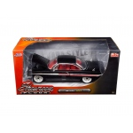 "1961 Chevrolet Impala Black ""Showroom Floor"" 1/24 Diecast Model Car by Jada"