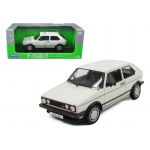 1983 Volkswagen Golf 1 GTI White 1/18 Diecast Model Car by Welly