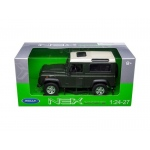 Land Rover Defender Green 1/24 - 1/27 Diecast Model Car by Welly