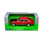 1969 Ford Capri Red 1/24 - 1/27 Diecast Model Car by Welly