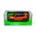Jeep Renegade Trailhawk Orange 1/24 - 1/27 Diecast Model Car by Welly