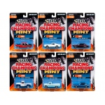 2017 Mint Release 3 Set B Set of 6 Cars 1/64 Diecast Model Cars by Racing Champions