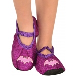 Rubie's Costumes Batgirl - Classic Glitter Child Slipper Shoes One-Size 7-11