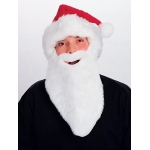 Rubie's Costumes Adult Plush Santa Hat With Beard