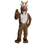 Rubie's Costumes Adult Old Time Reindeer Mascot Costume Standard
