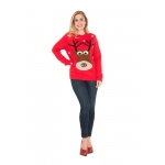 Adult Reindeer Christmas Sweater - Small