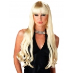 California Costumes Adult Blonde Serpentine Wig