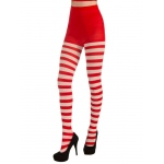 Forum Novelties Adult Christmas Striped Tights STD