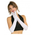 Rubie's Costumes Long White Gloves STD