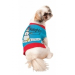 Ugly Christmas Sweater Pet Costume - Small