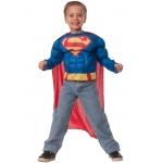Imagine Superman Deluxe Muscle Chest Shirt Box Set Child One Size One-Size
