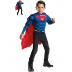 Imagine Superman Deluxe Muscle Chest Shirt and Cape Set Child One Size One-Size