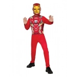 Imagine Iron Man Jumpsuit & Mask Child Costume Blister Set One Size One-Size