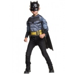 Imagine Batman Deluxe Muscle Chest Shirt Box Set Child One Size One-Size