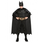 Imagine Batman Action Jumpsuit, Belt, Cape & Mask Box Set Child One Size One-Size