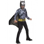 Imagine Armored Batman Deluxe Costume Top Box Set Child One Size One-Size