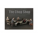 """Chop Shop"" 4 Piece Figure Set for 1:18 Scale Models by American Diorama"