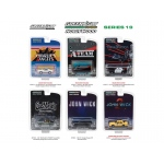 Hollywood Series / Release 19, 6pc Set 1/64 Diecast Model Cars by Greenlight