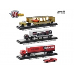 Auto Haulers Release 29, 3 Trucks Set 1/64 Diecast Models by M2 Machines