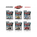 All Terrain Series 6, 6pc Diecast Car Set 1/64 Diecast Models by Greenlight