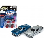 "1969 Camaro and 1970 Nova ""Yenko"" Set of 2 Limited Edition to 2502 pieces Worldwide 1/64 Diecast Model Cars by Johnny Lightning"