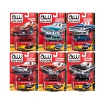 Autoworld Muscle Cars Premium 2018 Release 1 A Set of 6 Cars 1/64 Diecast Model Cars by Autoworld