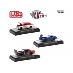 Auto Japan Nissan / Dastun 3 Cars Set Limited Edition to 3200 pieces Worldwide 1/64 Diecast Model Cars by M2 Machines