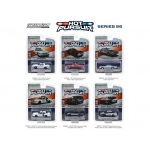 Hot Pursuit Series 26 Set of 6 Cars 1/64 Diecast Model Cars by Greenlight