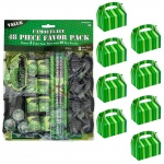 BuySeasons Army Camo Filled Favor Box Kit  (For 8 Guests)