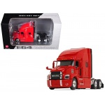 Mack Anthem Sleeper Cab Crossroads Red 1/64 Diecast Model by First Gear