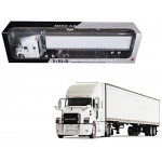 Mack Anthem Sleeper Cab White with 53' Trailer 1/64 Diecast Model by First Gear