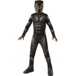 Marvel: Black Panther Movie  Black Panther Boys Costume - Small