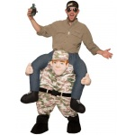 Forum Novelties Adult Ride-A-Soldier Costume