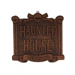 Morbid Haunted House Sign